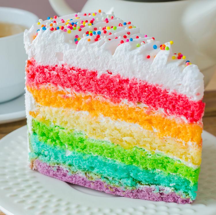 Torta Infantil con merengue