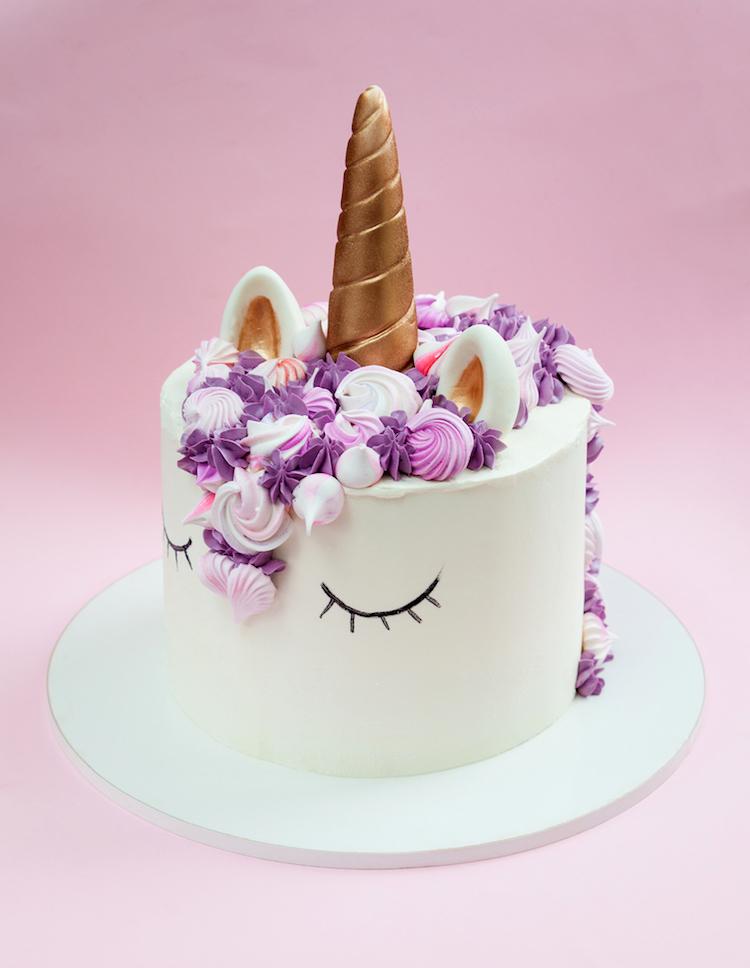 torta personalizada unicornio